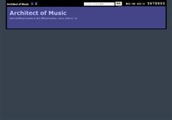 アーキテクト・オブ・ミュージック